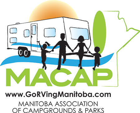 manitoba association of campgrounds and parks logo